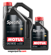 Aceite Motor Motul Specific Ford 913D 5W30 Acea A5/B5 Land Rover, 6 litros