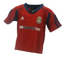 C.D. Chivas USA Official MLS Adidas Infant Baby Size Athletic Jersey New Tags