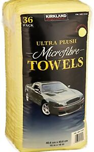 36 Microfibre 40 x 40CM Thick Ultra Soft Cleaning Dust Cloth Towel For Car Home