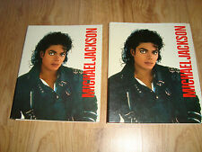 MICHAEL JACKSON BAD BINDER FILLED WITH RARE POSTERS BAD DANGEROUS HISTORY PERIOD