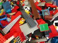 LEGO 100 TEILE STARTER SET+ Mischlego Konvolut kg Basics Dach Fenster Zaun Räder