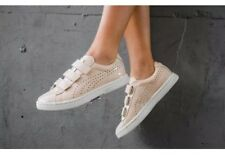 New Puma Court Star Velcro Low Top Shoes Sneakers Nude Tan Women's Size 7.5 $110
