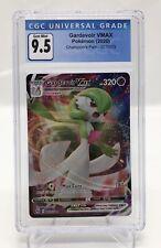 CGC-9.5 GEM MINT Gardevoir VMAX Ultra Rare Pokemon Card Champion's Path #17/73