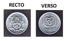 Ontario Trade Dollar With Deer Crest