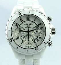 Chanel J12 White Ceramic Chronograph H1007 41mm