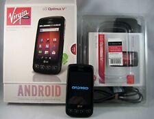 LG Optimus V VM670 - Black (Virgin Mobile) Smartphone - Sprint Network