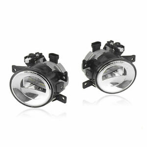 Left&Right LED Fog Light For Infiniti Q50 2014-2018 QX60 QX80 Q70/Q70L/Q70