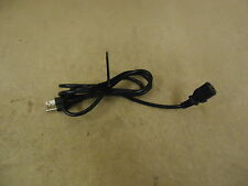Standard 6ft Power Cord Black Computer Printer 120V