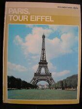 LIVRE PHOTOS : PARIS TOUR EIFFEL – GRANGE BATELIERE 1973 - D'ARAGON + GREGOIRE