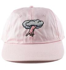 Agora Chosen 6 Panel Dad Hat polo Cap strapback 5 pastel pink NEW