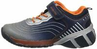 Stride Rite Baby Boy's SR-Lights Kadin (Toddler), Navy/Grey, Size 9.0 QXP5