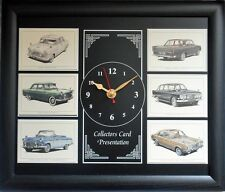 Ford Consul, Zephyr & Zodiac 1951-1971 Stunning Collector Cards Clock