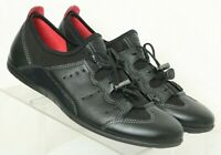 ECCO Black Bungee Walking HIking Sport Outdoor Shoes Women's US 11.5 EUR 42