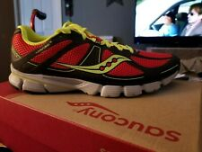 MEN'S SAUCONY PROGRID MIRAGE3 RUNNING SHOES SIZE12D GRY/RED/CITRON.