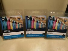 3 x Tesco HP 300 remanufactured ink brand new