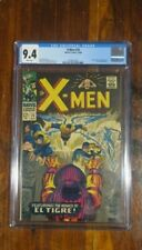 X-Men #25  Oct 1966  CGC 9.4  White Pages