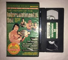 WWF - The History Of The Intercontinental Belt (VHS, 1987) WWE COLISEUM VIDEO