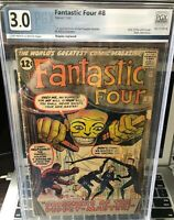 HOT! Fantastic Four #8  PGX not CGC,CBCS Coming To MCU 1st App Alicia Masters