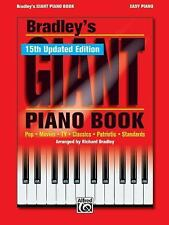Bradley's Giant Piano Book (Easy Piano Book)(15th updated edition), Richard Brad