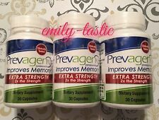 PREVAGEN EXTRA STRENGTH Quincy Improves Memory Healthier Brain 3 PACK 90CT