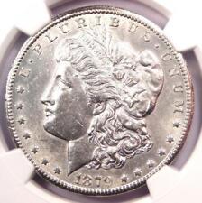 1879-CC Morgan Silver Dollar $1 - Certified NGC Uncirculated Detail (UNC MS BU)!