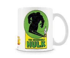 The Incredible Hulk Shadow Kaffee Becher Coffee Mug Tasse Marvel Classic Comics