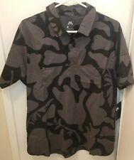 Nike Sb Men's Polo Shirt Sz: L Anthracite/Black Nike Skateboarding (A00286-060)