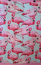 FLAMINGO TT PINK Morgan & Finch Home Collection Tea Towel Cotton Made in India