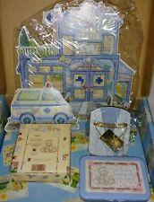 Vintage Cherished Teddies Members Club Kits Lot Of 3 Enesco