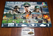 Diorama Set Battle Of Arras 1940 Rommel 's Offensive 1:72 Italeri 6118 Neu