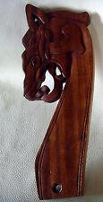 Cabeza de dragón a la izquierda todo caso vikingo Vikings Gokstad-barco dragón cabeza montantes