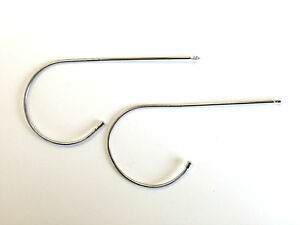 Silver Cable Temples Arms Legs Aviator Sunglasses Free Screwdriver 3025 Aviator