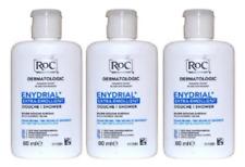 Roc Enydrial Extra-Emollient Rich Shower Cream 60ml X3 Hypoallergenic