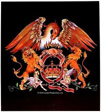 Sticker Queen Black Heraldry Coat of Arms Crest English Rock Band Music Decal