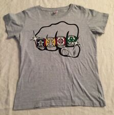 KISS THE RINGS Boston Championship Sports Patriots Celtic Bruins Red Sox Size M