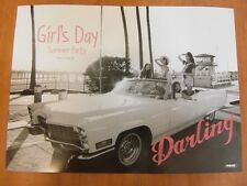 GIRL'S DAY - Everyday #4 Summer Party (Ver. D) [OFFICIAL] POSTER *NEW* K-POP