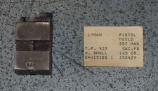 Lyman (1-cavity) Mold-(358-429) marked (358-495)