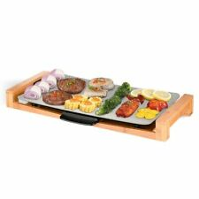 SOGA Electric Ceramic Indoor & Outdoor Hot Plate BBQ Grill Non-stick Surface