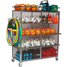 Deluxe Sports Ball Storage Cabinet for Schools