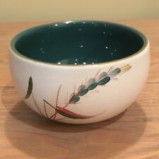 Denby Greenwheat Open Sugar Bowl Excellent Condition Signed A College