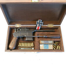 Boite de presentation pistolet C96 Mauser 1912-1916 ref 1