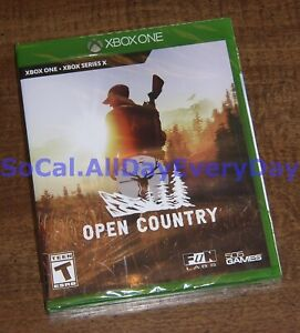 Open Country - Hunting/Survival (Xbox 1 One and Series X, Physical) BRAND NEW!!!