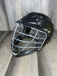 Cascade CPX-R Lacrosse LAX Helmet Black CPXR Standard Size Fits Most