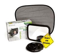 Baby Auto-Spiegel groß Verstellbar Bruchsicher Spiegel Rückansicht Baby Spiegel