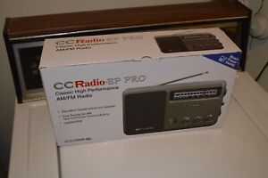 CCRadio - EP PRO AM FM Portable Analog DSP + Twin Coil Antenna Inside. Brand New