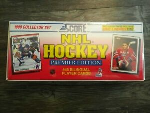 1990-91 Score Canadian Hockey Sealed Factory Set HOF Rookies include Lindros, Br
