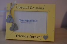 """Personalised handmade photo frame SPECIAL COUSINS FRIENDS FOREVER gift 6x4"""""""
