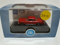 Oxford Diecast 87CH63002 Chevrolet Corvair Coupe 1963 Riverside Red 1/87