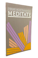 Swami Muktananda MEDITATE  1st Edition 4th Printing