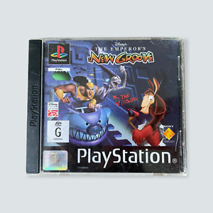 The Emperor's New Groove for the Sony Playstation/PSX - GC/PAL/AUS/BLK Label 🐙